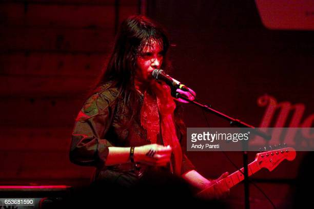 Teri Gender Bender of Le Butcherettes performs onstage at House of Vans during 2017 SXSW Conference and Festivals at Mohawk Indoor on March 15 2017...
