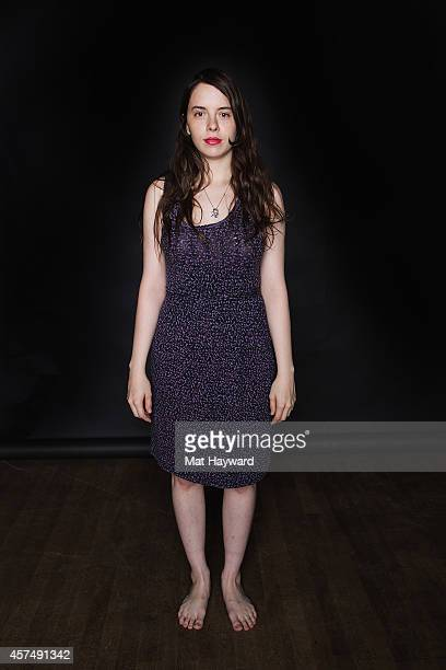 Teri Gender Bender of Le Butcherettes poses for a portrait at Showbox Market on October 18 2014 in Seattle Washington