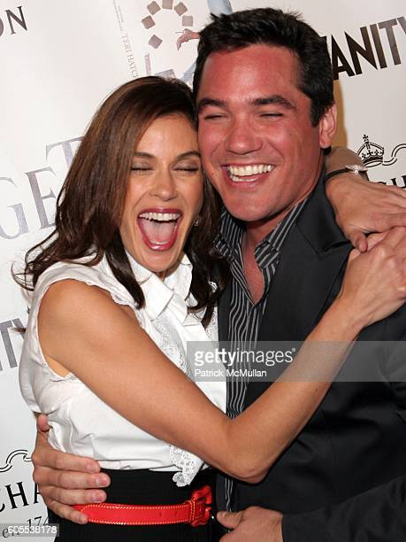 Teri Hatcher and Dean Cain attend Piaget Vanity Fair Celebrate The Publication Of 'Burnt Toast' at Aqua Lounge on May 2 2006 in Beverly Hills CA