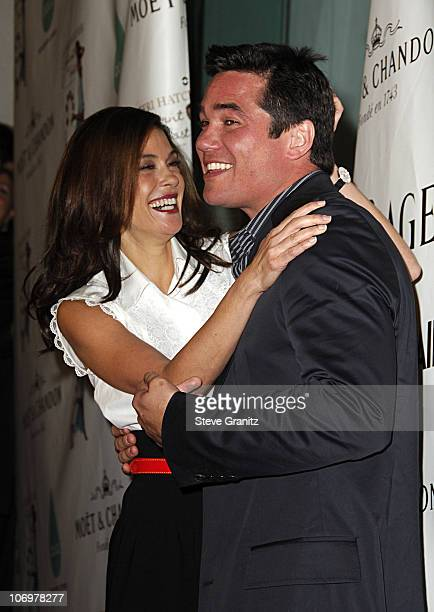 Teri Hatcher and Dean Cain during Launch Party for Teri Hatcher's Book 'Burnt Toast and Other Philosophies of Life' Arrivals at Book Soup/Aqua...