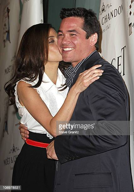 Teri Hatcher and Dean Cain during Launch Party for Teri Hatcher's Book Burnt Toast and Other Philosophies of Life Arrivals at Book Soup/Aqua...