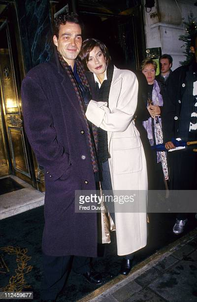 Teri Hatcher and Husband Jon Tenney during Teri hatcher and Husband Jon Tenney File at London in London Great Britain