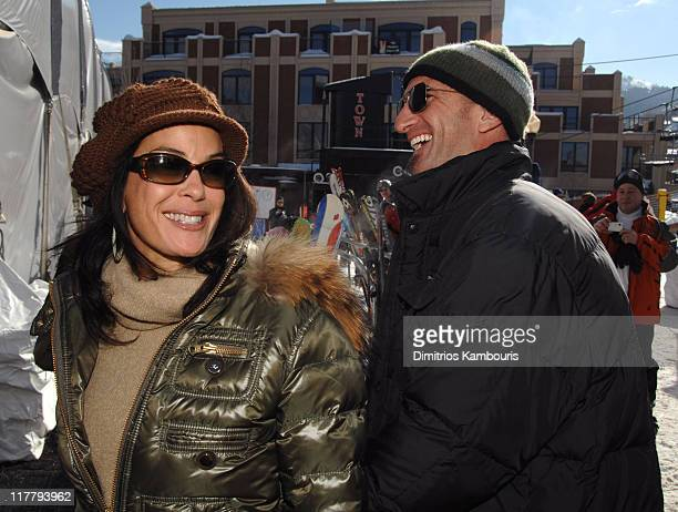 Teri Hatcher and Stephen Kay during 2007 Park City Village at the Lift Day 3 at Village at the Lift in Park City Utah United States