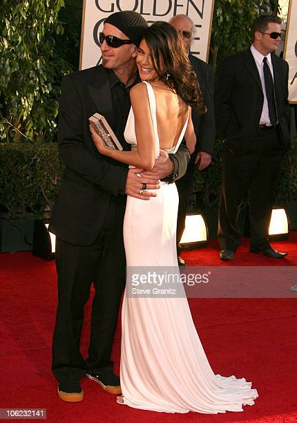 Teri Hatcher and Stephen Kay during 64th Annual Golden Globe Awards Arrivals at Beverly Hilton in Beverly Hills CA United States