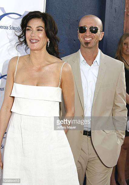 Teri Hatcher and Stephen Kay during 6th Annual Comedy For A Cure Hosted by Tuberous Sclerosis Alliance at The Music Box Theatre in Hollywood...
