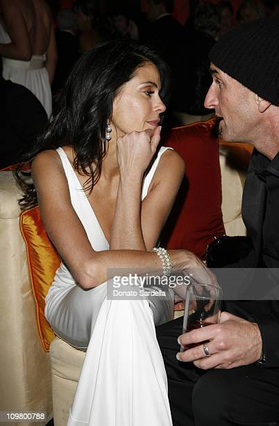 Teri Hatcher and Stephen Kay during In Style and Warner Bros. 2007 Golden Globe After Party - Inside at Beverly Hilton Hotel in Beverly Hills,...