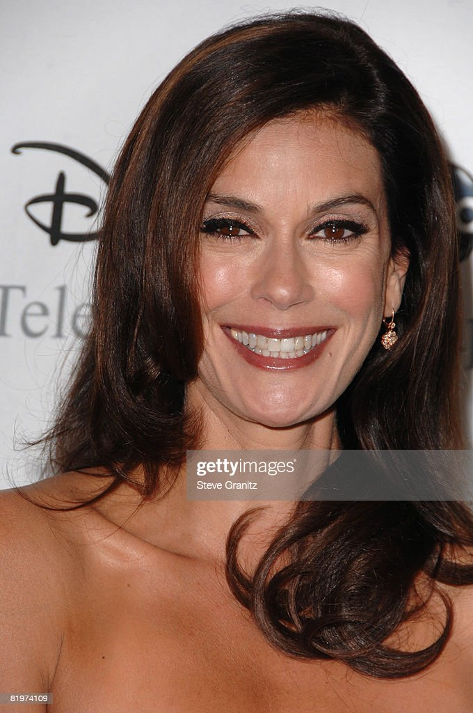 Teri Hatcher arrives at the Disney and ABC's 'TCA - All Star Party' on July 17, 2008 at the Beverly Hilton Hotel in Beverly Hills, California.