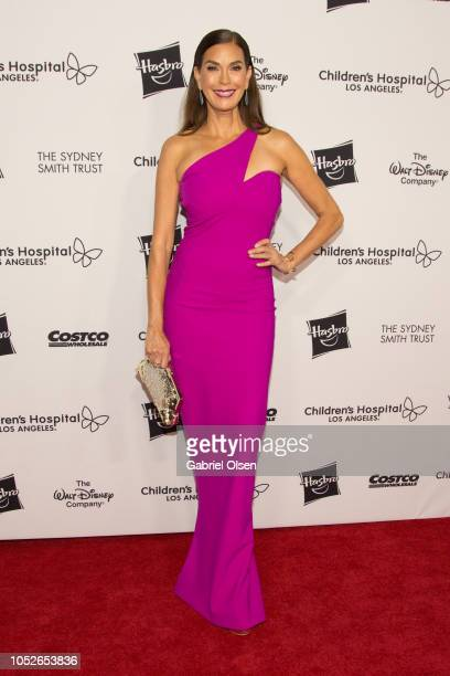Teri Hatcher arrives for 2018 From Paris with Love Children's Hospital Los Angeles Gala at LA Live Event Deck on October 20 2018 in Los Angeles...