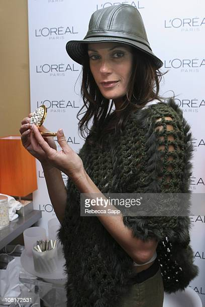 Teri Hatcher at L'Oreal during HBO Luxury Lounge Day 1 at Peninsula Hotel in Beverly Hills California United States