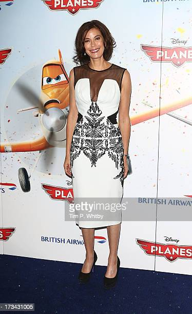 Teri Hatcher attends a special screening of Disney's 'Planes' at Odeon Leicester Square on July 14 2013 in London England