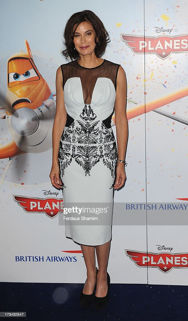 Teri Hatcher attends a special screening of Disney's 'Planes' at Odeon Leicester Square on July 14, 2013 in London, England.