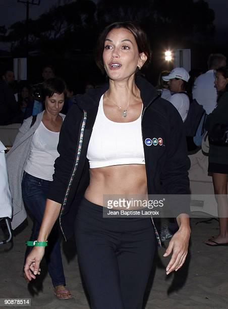 Teri Hatcher attends the 23rd Annual Nautica Malibu Triathalon at Zuma Beach on September 13 2009 in Malibu California