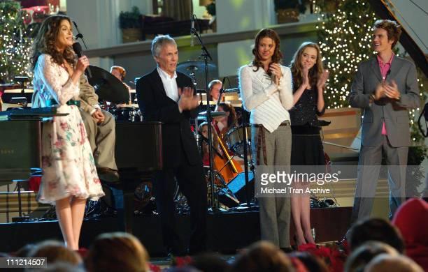 Teri Hatcher Burt Bacharach Shannon Elizabeth Andrea Bowen and Tyler Hilton