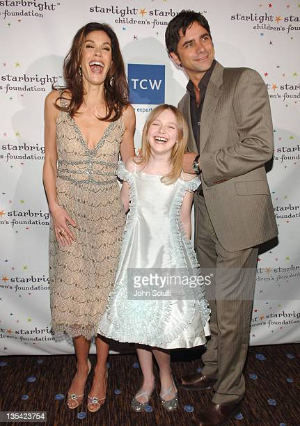 Teri Hatcher Dakota Fanning and John Stamos *EXCLUSIVE*