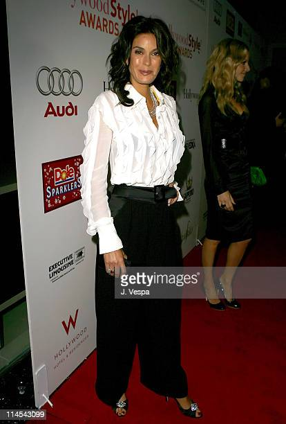 Teri Hatcher during 2006 Hollywood Life Movieline Style Awards Red Carpet at Pacific Design Center in West Hollywood California United States