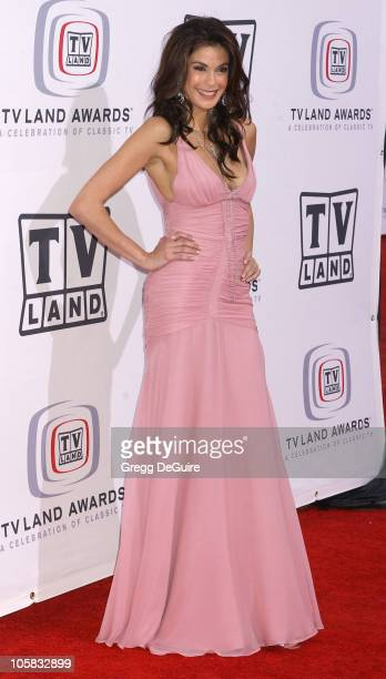 Teri Hatcher during 3rd Annual TV Land Awards Arrivals at Barker Hangar in Santa Monica California United States