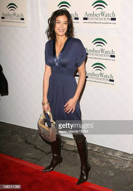 Teri Hatcher during An AllStar Comedy Lineup to benefit the AmberWatch Foundation Arrivals at Original ImprovHollywood in Hollywood California United...