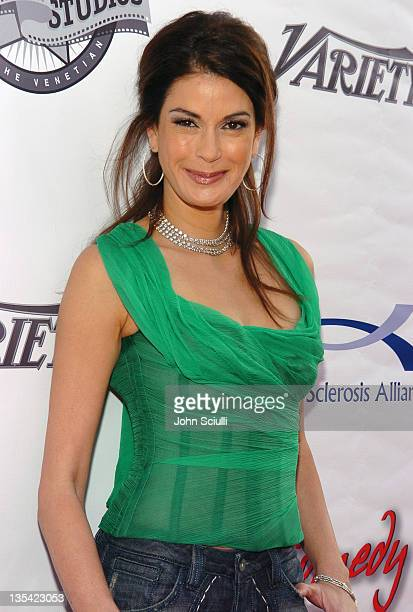 Teri Hatcher during Comedy for a Cure Benefiting the Tuberous Sclerosis Alliance at Henry Fonda Theatre in Los Angeles California United States