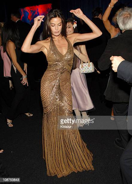 Teri Hatcher during InStyle & Warner Bros. 2006 Golden Globes After Party - Inside at Beverly Hilton in Beverly Hills, California, United States.