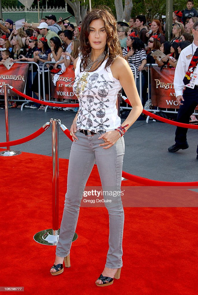 Teri Hatcher during 'Pirates of the Caribbean: At World's End' World Premiere - Arrivals at Disneyland in Anaheim, California, United States.