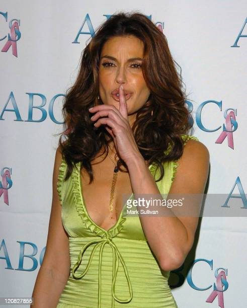 Teri Hatcher during Spirit of Hollywood Awards Diamond Jubilee Arrivals at Beverly Hilton Hotel in Beverly Hills California United States