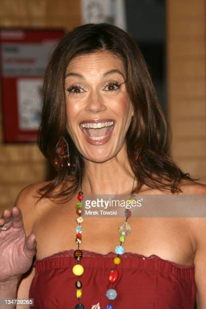 Teri Hatcher during Teri Hatcher signs her book 'Burnt Toast' at Barnes Noble in Westwood CA United States