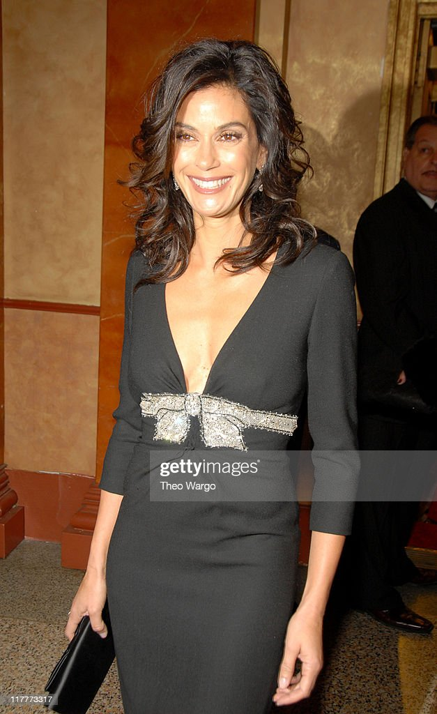 Teri Hatcher during The 2006 Women's World Awards - Inside Arrivals at The Hammerstein Ballroom in New York City, New York, United States.