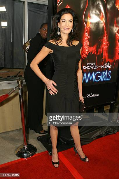 """Teri Hatcher during The Los Angeles Premiere of Dreamworks Pictures' and Paramount Pictures' """"Dreamgirls"""" at Wilshire Theater in Beverly Hills,..."""