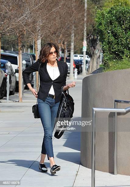 Teri Hatcher is seen on February 11 2015 in Los Angeles California