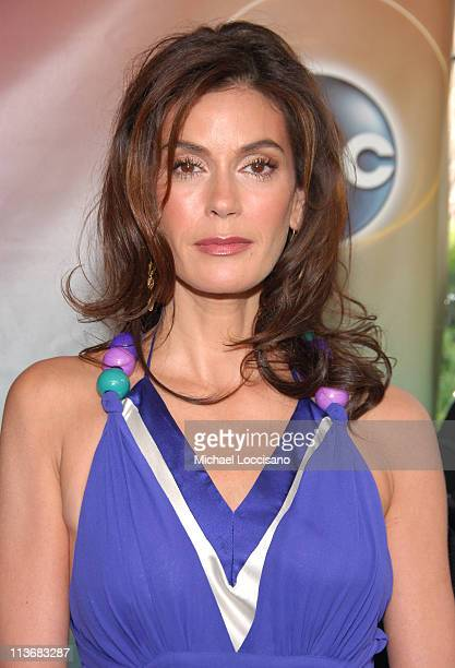 Teri Hatcher of Desperate Housewives during ABC Upfront 2006/2007 Arrivals at Lincoln Center in New York City New York United States