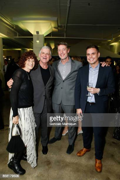 Teri Jankowski John Lyons DrChristopher Barley and Luke Carron during the CITTA Fest 2017 Fall Benefit at Tribeca Skyline Studios on October 5 2017...