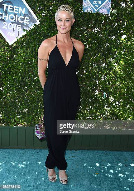 Teri Polo arrives at the Teen Choice Awards 2016 at The Forum on July 31 2016 in Inglewood California