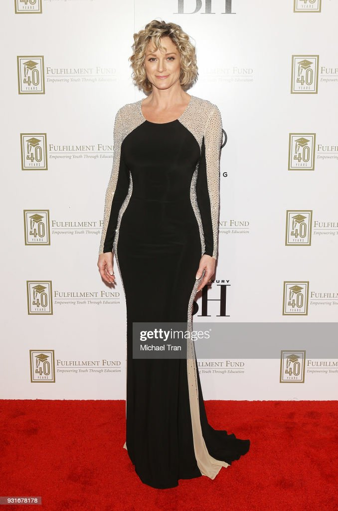 Teri Polo attends A Legacy of Changing Lives presented by The Fulfillment Fund held at The Ray Dolby Ballroom at Hollywood & Highland Center on March 13, 2018 in Hollywood, California.