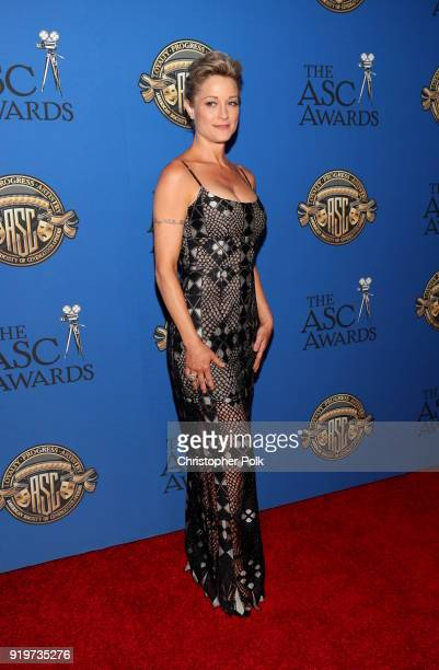 Teri Polo attends the 32nd Annual American Society Of Cinematographers Awards at The Ray Dolby Ballroom at Hollywood Highland Center on February 17...