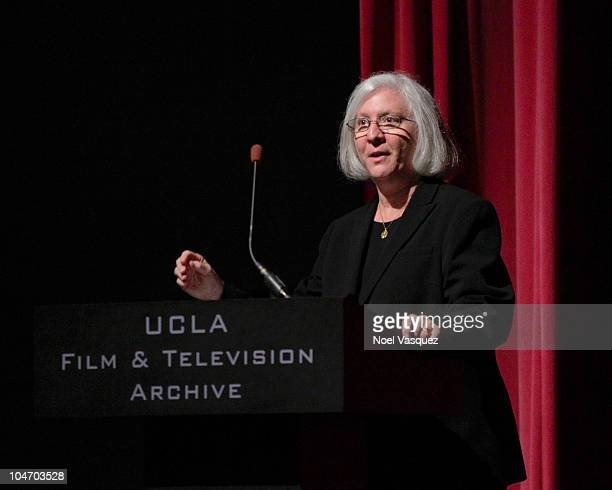 """Teri Schwartz attend the UCLA Film and Television Archive screening of """"Gerrymandering"""" on October 3, 2010 in Los Angeles, California."""