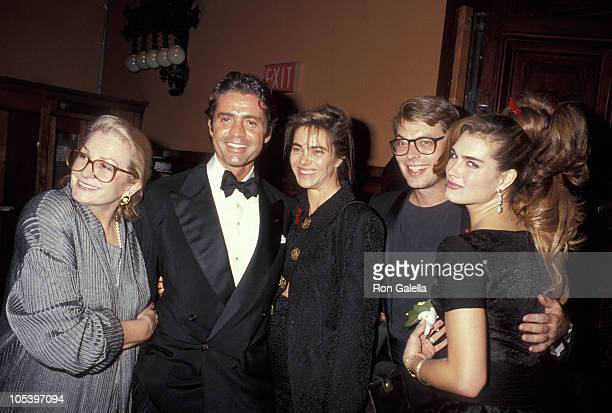 Teri Shields Roffredo Gaetani guests and Brooke Shields