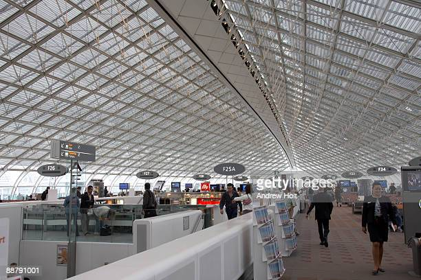 Terminal 2 of Charles De Gaulle airport.