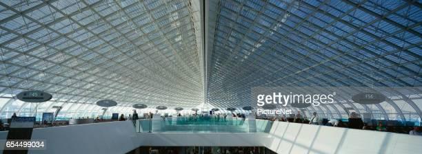 Terminal at Charles de Gaulle Airport