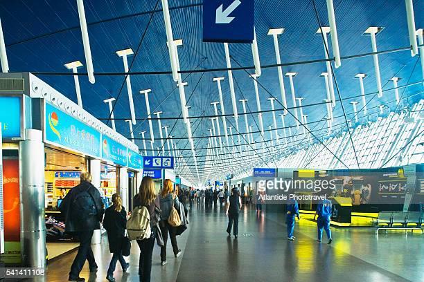 Terminal at Shanghai Pudong International Airport