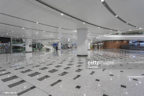 terminal hall,china beijing international airport - design occupation stock pictures, royalty-free photos & images