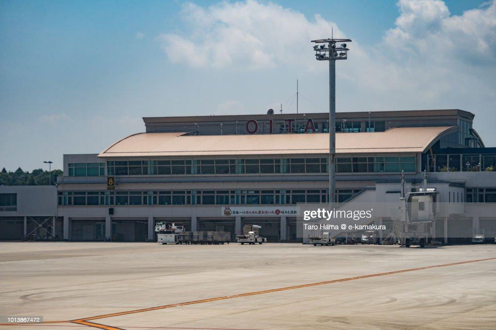 Terminal of Oita Airport in Japan : Stock-Foto