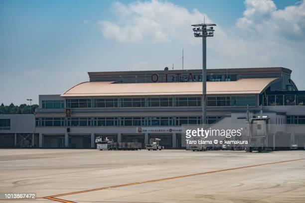 Terminal of Oita Airport in Japan