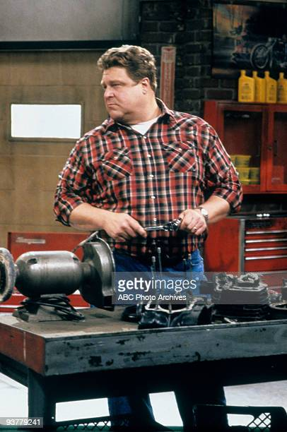 ROSEANNE 'Terms of Estrangement Part 1' Season Five 9/15/92 John Goodman on the ABC Television Network comedy 'Roseanne' Becky is upset after Mark...