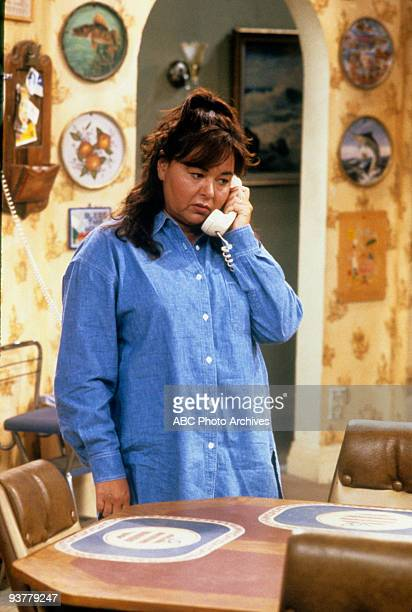 ROSEANNE Terms of Estrangement Part 1 Season Five 9/15/92 Roseanne Barr on the ABC Television Network comedy Roseanne Becky is upset after Mark gets...