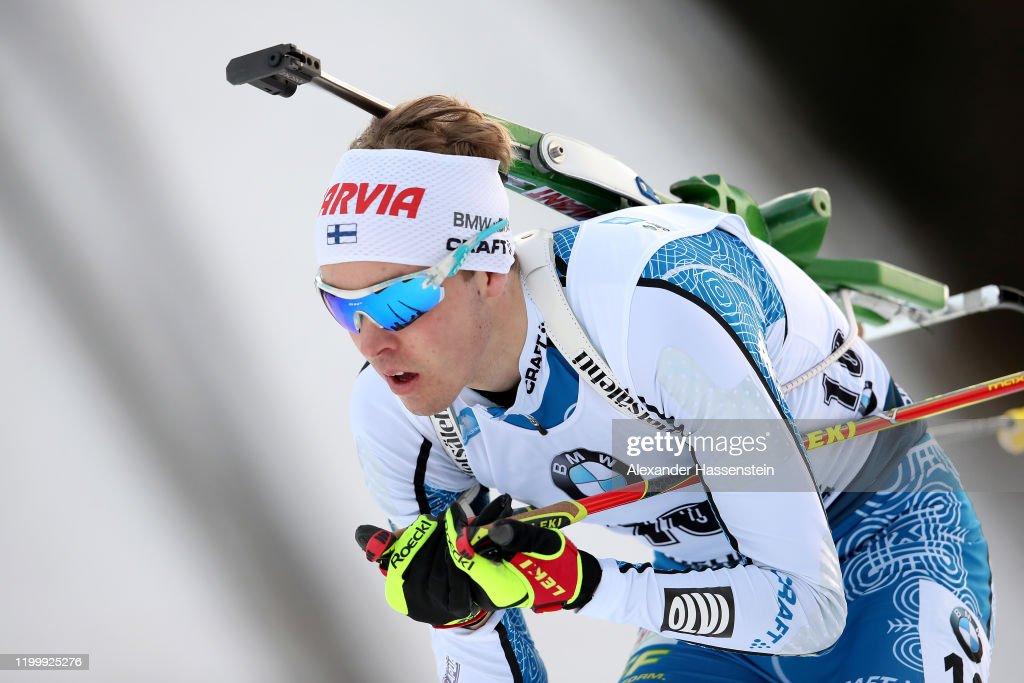 BMW IBU World Cup Biathlon Ruhpolding - Men 10 km Sprint Competition : News Photo