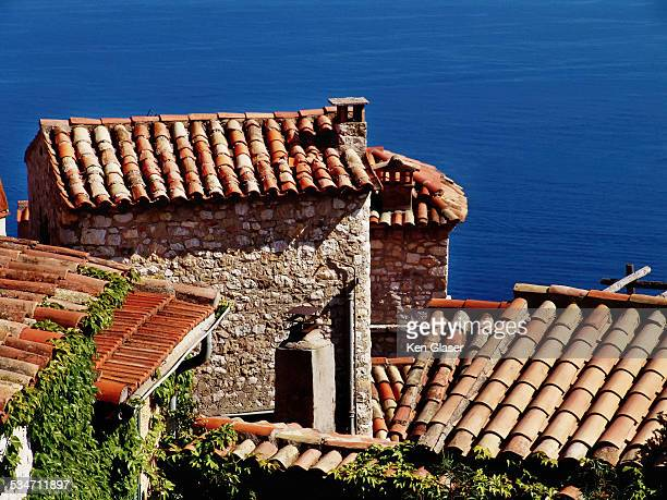 Terra Cotta Roofs Eze and Mediterranean