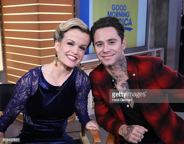 AMERICA Terra Jole and Sasha Farber of 'Dancing with the Stars' are guests on 'Good Morning America' Tuesday November 15 airing on the ABC Television...