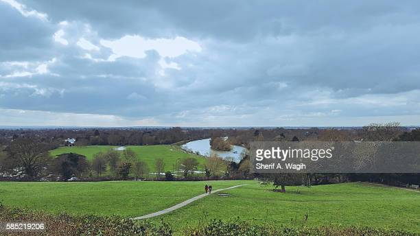 terrace gardens, richmond uk - richmond upon thames stock pictures, royalty-free photos & images