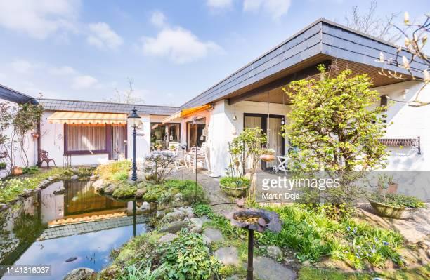 terrace hdr - terrassenfeld stock-fotos und bilder