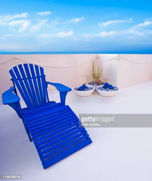 terrace of a beach house - la manga stock pictures, royalty-free photos & images